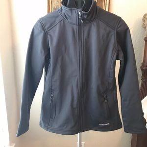 Avalanche Womens Large Gray Soft Shell Jacket NWT